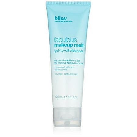 Bliss/Fabulous Makeup Melt Gel-To-Oil Cleanser 0.07 Oz
