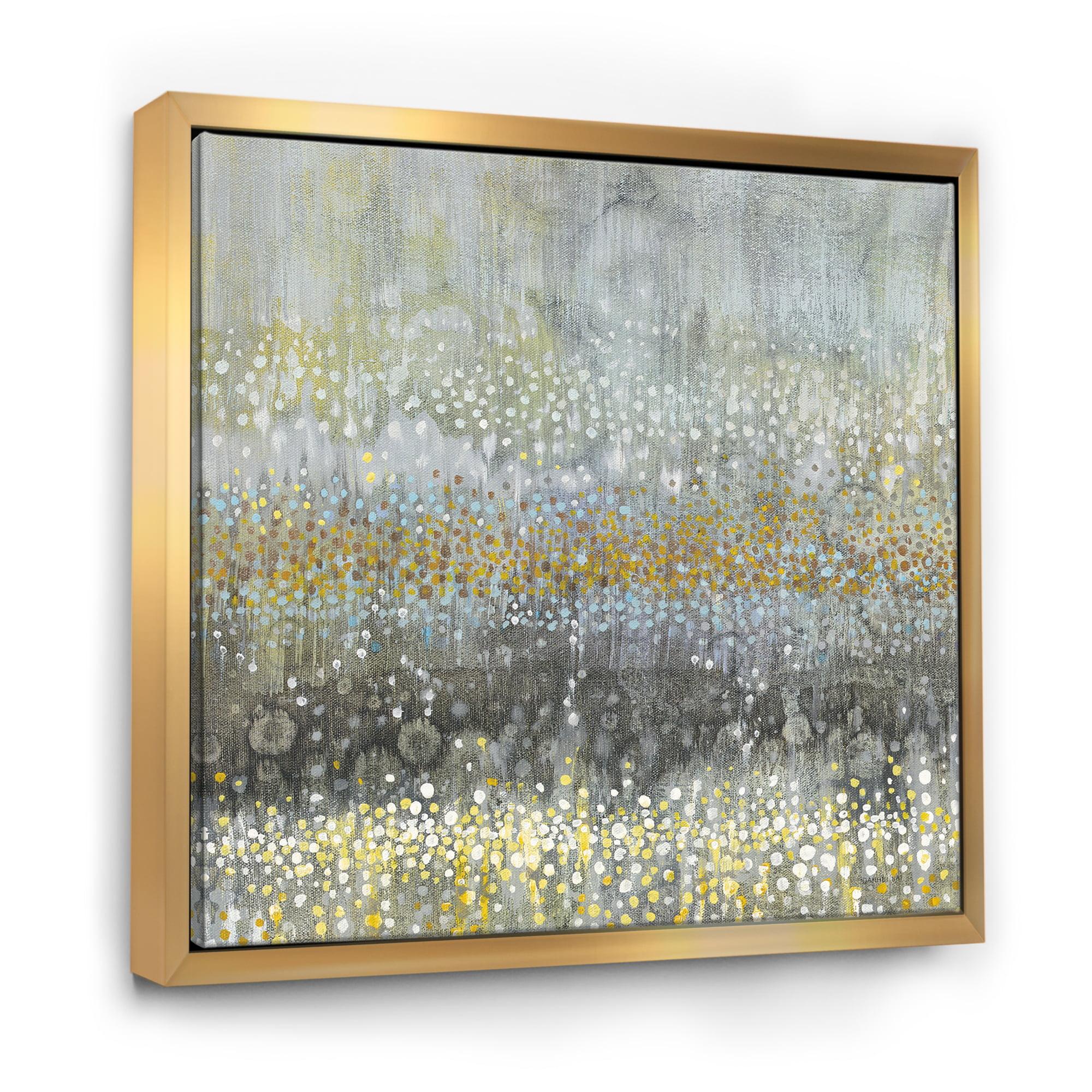 Glam Rain Abstract Iii Modern Contemporary Framed Canvas Walmart Canada