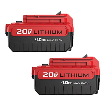 Replacement For Porter Cable PCC690L Power Tool Battery (4000mAh, 20v, Li-Ion) - 2 (Osprey Porter 46 Travel Pack)