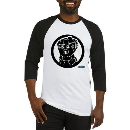 Infinity Jersey - CafePress - Infinity Gauntlet - Cotton Baseball Jersey, 3/4 Raglan Sleeve Shirt