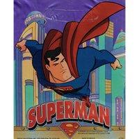 Superman Vintage Foil Favor Bags (8ct)