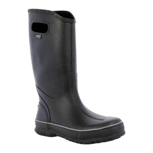 Bogs Boots Mens Rubber Rain Waterproof EVA Bio Grip Black 71913 by Bogs