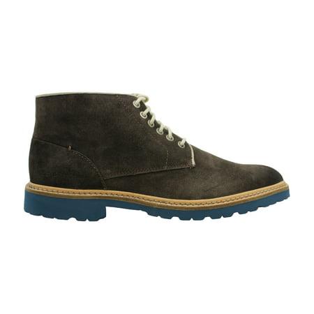 Calvin Klein Jeans Mens quarlo Suede Almond Toe Ankle Fashion, Brown, Size 11.0