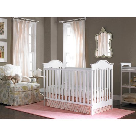 Fisher Price Charlotte 3 In 1 Convertible Crib White