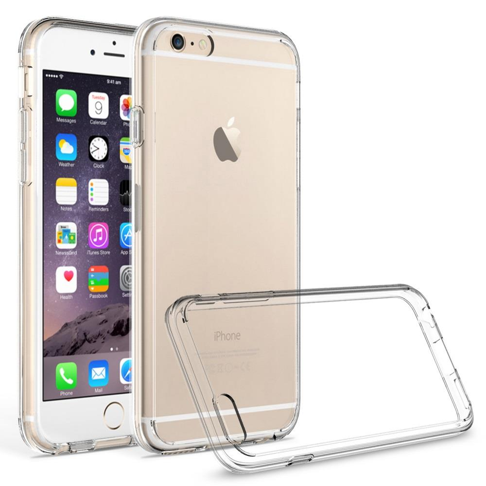 iPhone 6 Plus / iPhone 6S Plus Case - Armatus Gear (TM) Ultra Slim Anti-Scratch Acrylic Clear Case with TPU Grip Bumper Hybrid Phone Cover for Apple iPhone 6 PLUS / iPhone 6S PLUS