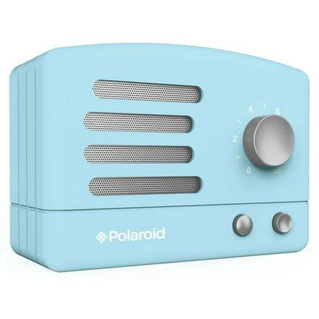 Polaroid PBT530 Wireless Bluetooth Portable Retro Speaker- Blue Alnico Blue Guitar Speaker