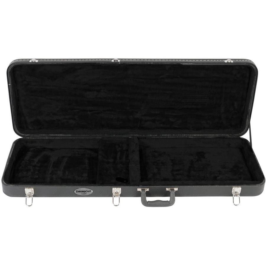 ChromaCast Electric Guitar hard case with picks