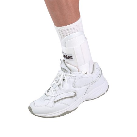 Mueller Lite Ankle Brace, White, One Size Fits