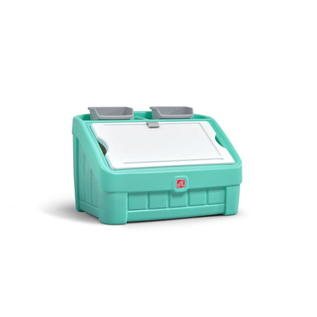 Step2 2-in-1 Toy Box & Art Lid - Mint Green - Art Boxes