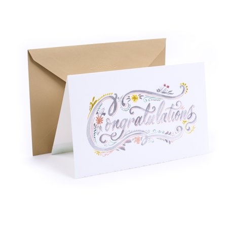 Hallmark Wedding Greeting Card (Congratulations Lettering) for $<!---->