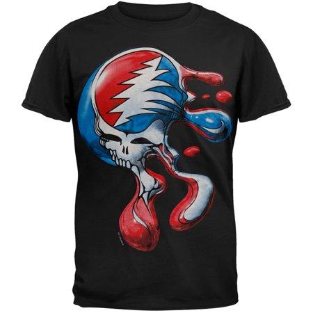 Grateful Dead - Steal Your Face Melt T-Shirt](Grateful Dead Space Your Face Shirt)