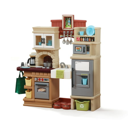 Step2 Heart of the Home Kitchen Play Set with 40 Piece Accessory