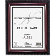 Nu-Dell, NUD17403, Executive Frame, 1 Each, Mahogany Black Frame