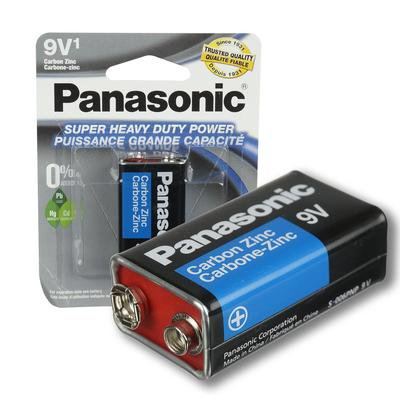 New 217994  Panasonic 9V Battery (48-Pack) Cheap Wholesale Discount Bulk Electronics Small Candle Holder