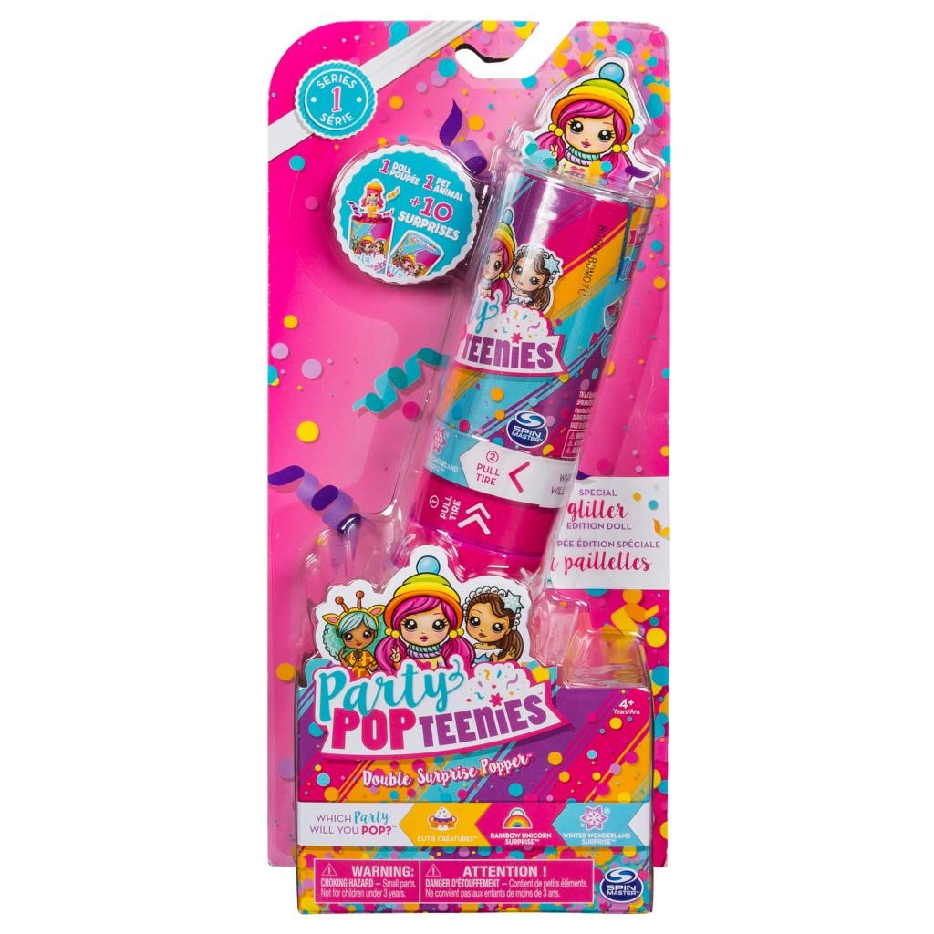 Party Popteenies Party Popteenies - Double Surprise Popper (Styles May Vary)