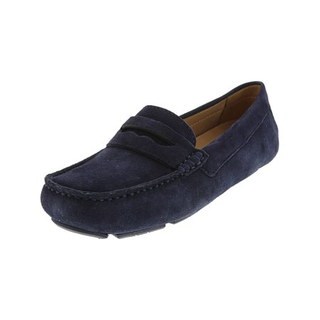 Naturalizer Women's Natasha Suede Navy Loafer - -