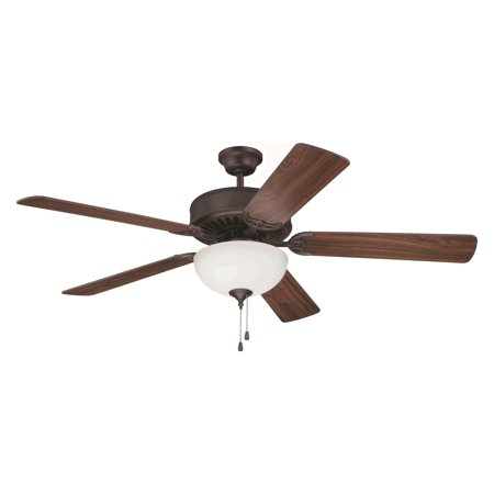 Craftmade 201 Pro Builder 52 in. Indoor Ceiling Fan with Bowl Light ()