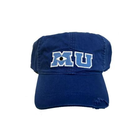 Monster University Hat (Disney Parks M U Monsters University Adult Size Baseball Hat)