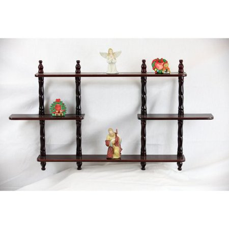 Home Craft 3-Tier Wall Shelves, Multiple Colors ()