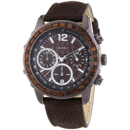 Guess W0017L4 Ladies LADY B Chronograph Brown Watch