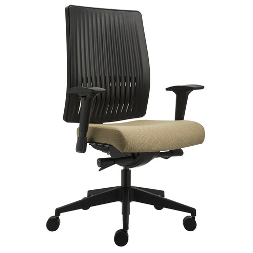 Silver Seating Sierra High-Back Conference Chair