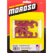 Moroso Spark Plug Wire Loom 7 mm-9 mm Red Universal P/N 72161