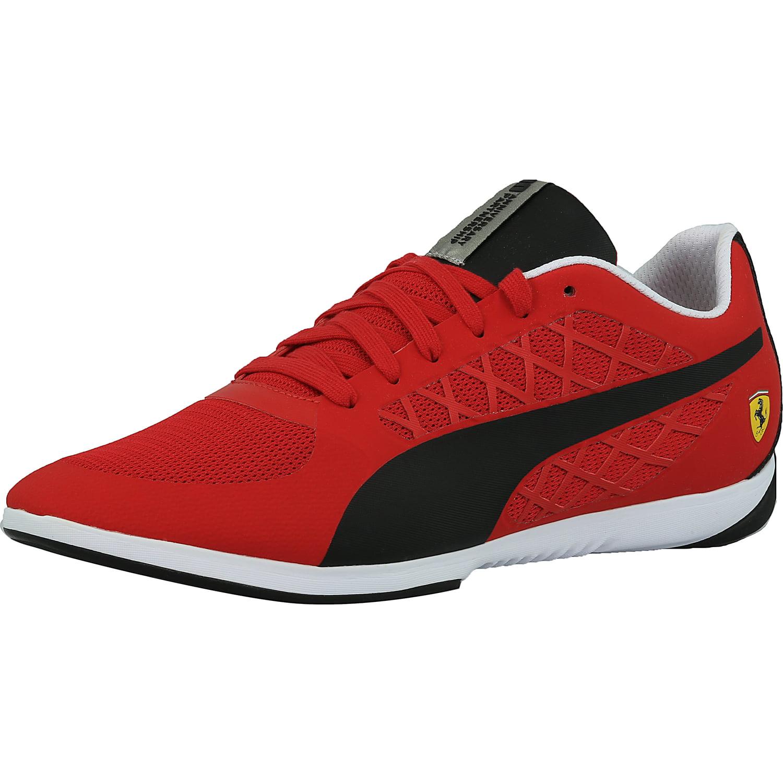 Puma Men's Ferrari Valorosso 2 Black   Rosso Corsa Ankle-High Fashion Sneaker 8M by Puma