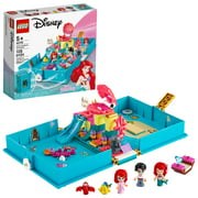 LEGO Disney Ariel's Storybook Adventures 43176 Little Mermaid Building Kit (105 Pieces)