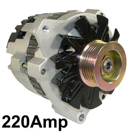 Chevrolet C2500 Alternator - NEW 220A ALTERNATOR FITS CHEVROLET C1500 C2500 K1500 K2500 SUBURBAN 1992 1101620