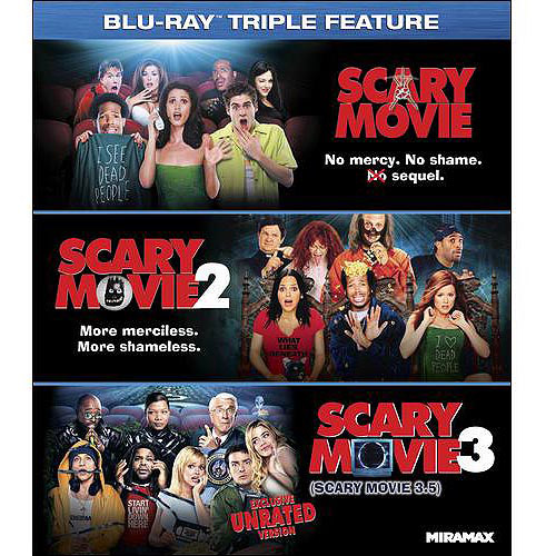Scary Movie Triple Feature (Unrated) (Blu-ray) (With INSTAWATCH)