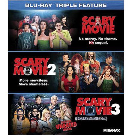 Scary Movie Triple Feature  Unrated   Blu Ray   With Instawatch