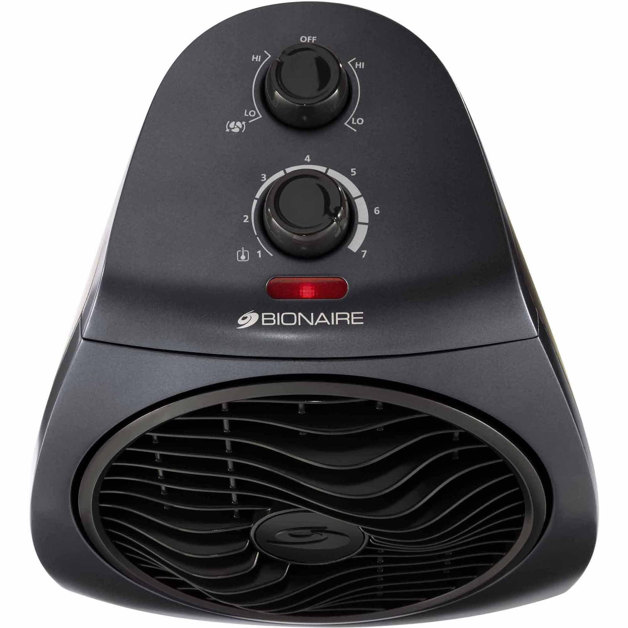 4285d03fa637 Bionaire Electric Heater Fan Circulator with Rotating Grill  (BFH3342M-UWM-115) - Walmart.com