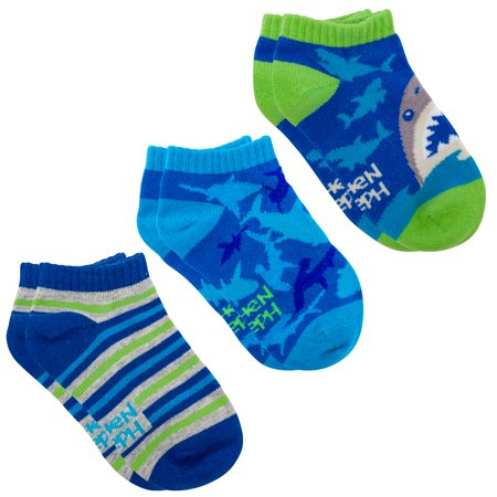 Mix & Match Ankle Sock, Shark