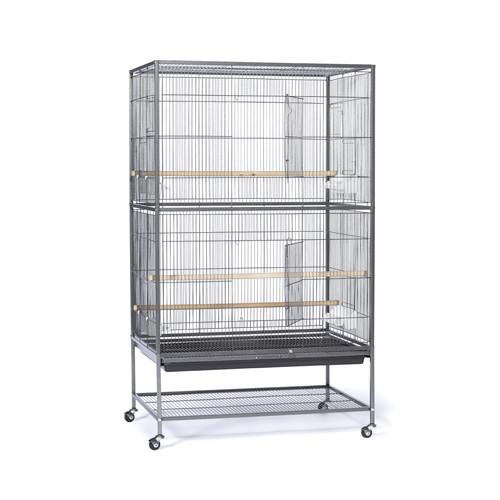 Prevue Hendryx Flight Bird Cage with Storage Shelf