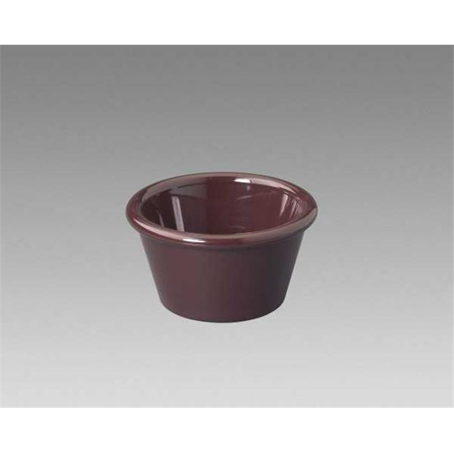 Gessner Products IW-0361-BR 2 oz. Smooth-Sided Ramekin- Case of 12 by Gessner Products Co., Inc.