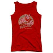 Hagar The Horrible Hagar Circle Juniors Tank Top Shirt