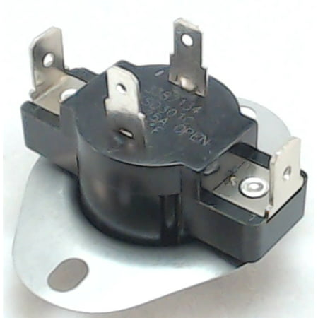 3387134, Dryer Thermostat L155 fits Roper, Kenmore, (Whirlpool Kenmore Dryer Thermostat)