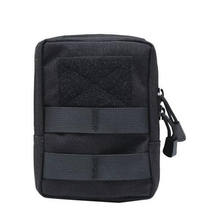 1000D Outdoor Military Tactical Waist Bag Multifunctional EDC Molle Tool Zipper Waist Pack Accessory Durable Belt Pouch