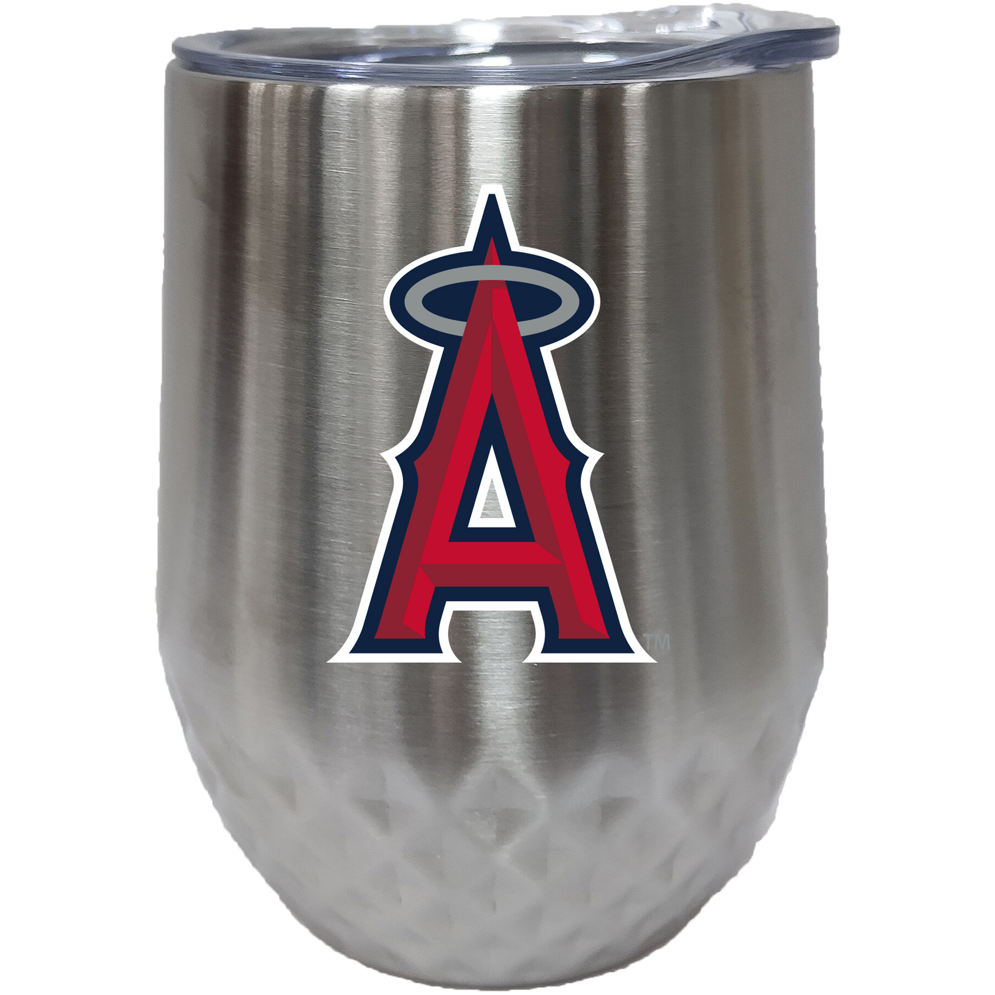 Los Angeles Angels 12oz. Stainless Steel Stemless Diamond Tumbler - No Size