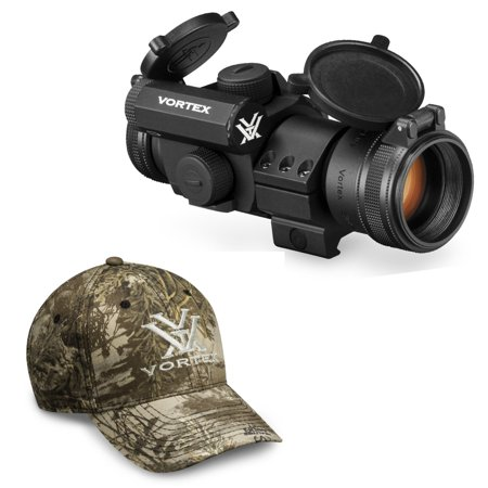 Vortex StrikeFire II 1x30 Red Dot Sight (4 MOA Red/Green Reticle) with (Vortex Pst 1 4 Vs Strike Eagle)