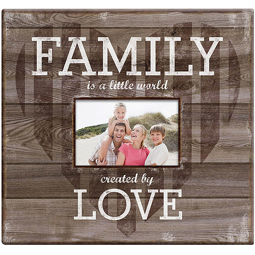 "Family Love Post Bound Scrapbook with Window, 12"" x 12"""