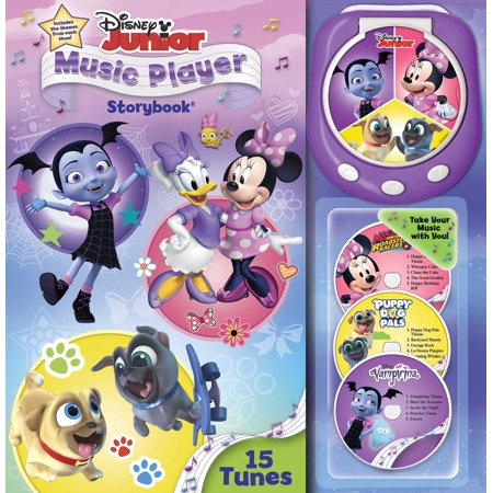 Disney Junior Music Player (Adam Lay Ybounden Music Book)