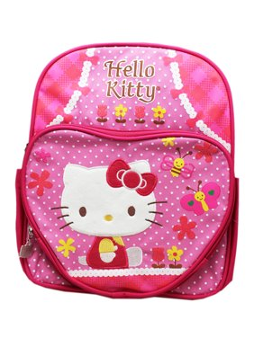 Product Image Sanrio s Hello Kitty Bees and Butterflies Dual Tone Pink  Small Backpack (12in) 293ab31704241