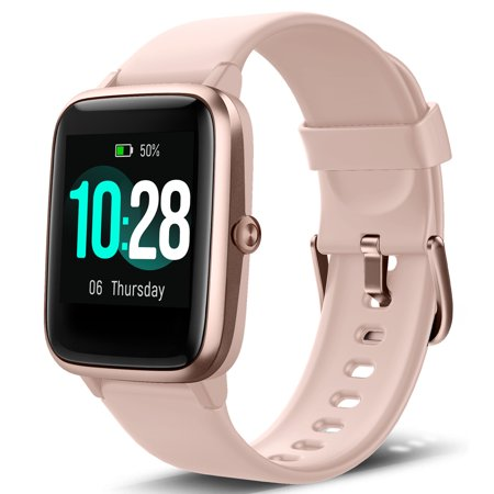 TSV Smart Watch Fits for Android iOS Samsung Phone...
