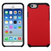 For iPhone 6s/6 Red/Black Hybrid Astronoot Phone Protector Cover Case