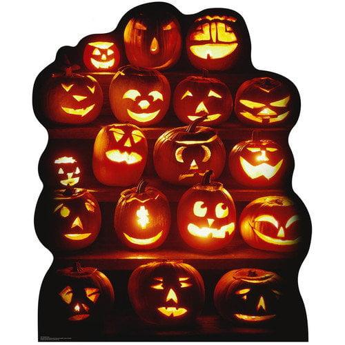 Advanced Graphics Halloween Pumpkin Group Cardboard Stand-Up