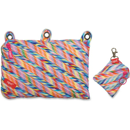 ZITZT3RSTRSPR, Stripes Design Colorz Three-Ring Pouch Set, 1, Assorted Bright - Ring Bearer Backpack
