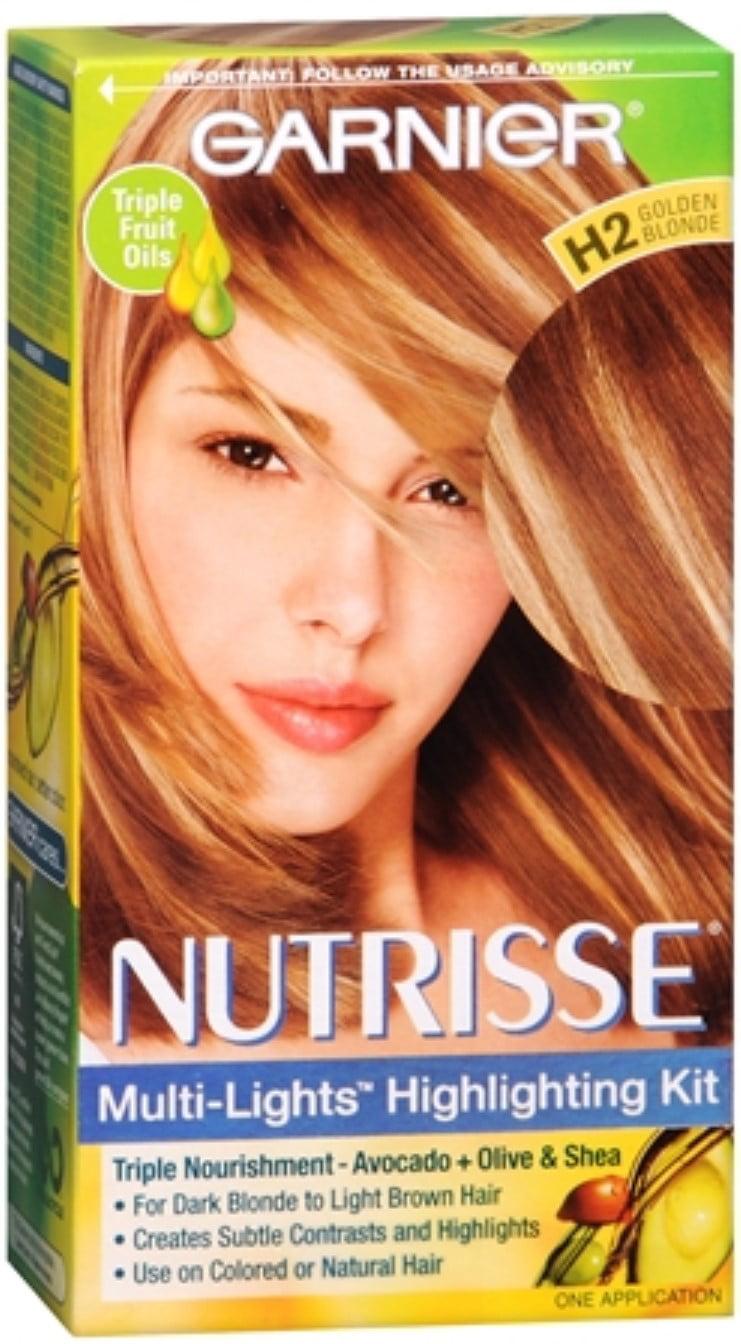 Garnier Nutrisse Haircolor Multi Lights H2 Golden Blonde 1 Each