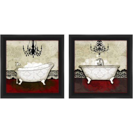 Bath Set 14X14 Wall Art