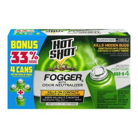 Hot Shot Fogger With Odor Neutralizer, Aerosol,